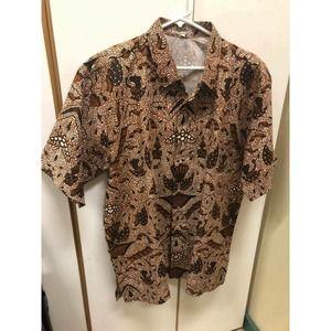 Vintage Seratan Antique Batik Shirt by Fafa / Fata